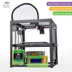 2017 Newest design Bigger Print area Flyingbear-P905 DIY 3d Printer kit Full metal High Quality Precision Makerbot Structure