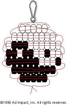 Yin Yang Pony Bead Pattern