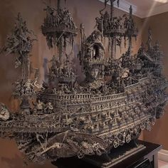 "Here's the front view of ""leviathan"" ark of the apocalypse by @shallowgravestudios"
