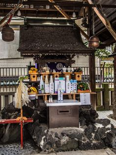 Edo Kappore in Asakusa 1/3 The usually quiet Hikan Inari Jinja (behind Asakusa Jinja shrine https://www.pinterest.com/pin/196047390003477413/) filled with offerings. Why? #Asakusa, #Jinja, #Hikan, #Inari, #Kappore March 18 2015 © Grigoris A. Miliaresis