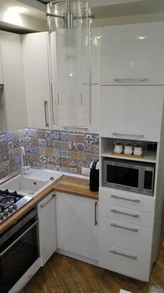 99 Popular French Country Kitchen Decoration Ideas For Home - : - A French country kitchen can be a welcome addition to your home because it offers you the warm feeling of a rustic chateau kitchen. Even if your kitch. Apartment Kitchen, Home Decor Kitchen, Rustic Kitchen, Interior Design Kitchen, Kitchen Ideas, Mini Kitchen, New Kitchen, Kitchen Small, Small Kitchens