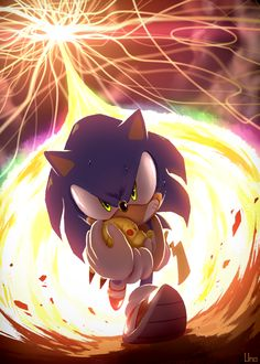 """Probably my favorite art piece in the """"What if Pikachu grabbed Sonic's hand in time"""" timeline Super Smash Bros Brawl, Nintendo Super Smash Bros, Sonic Fan Characters, Video Game Characters, Sonic The Hedgehog, Equipe Pokemon, Super Smash Ultimate, Pikachu, Otaku"""