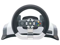 Microsoft Wireless Racing Wheel review | We wonder if devs are complicit in wearing PC gamers down until they finally accept that using an Xbox 360 pad is a best way to play a PC game - the number of times we've been asked to hit a green B button is greater than the number of cooked evening meals we've enjoyed. Reviews | TechRadar