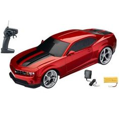 Great gift for the Camaro lover! Red Camaro Electric Remote Control RC Car (XQ).