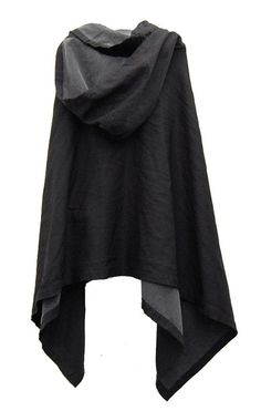 Black cloak // Comme des Garçons