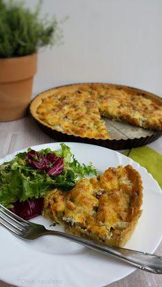 Zeleninový quiche /kiš/