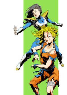 Gender-swapped Dragonball Z