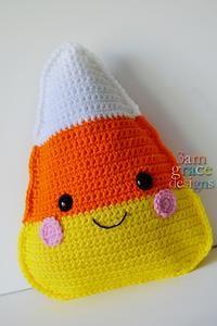 Candy Corn Kawaii Cuddler™ Crochet Pattern