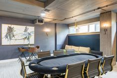 Challenge your friends or fellow residents to a game of pool in our Game Room. Apartment Communities, Luxury Apartments, Bedroom Apartment, Alexandria, Game Room, Challenge, Friends, Table, Projects