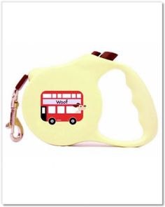 London Calling retractable leash from Romy + Jacob