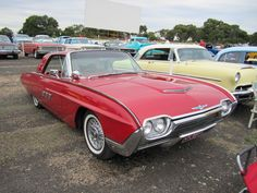 #cars #coches :1963 Ford Thunderbird Hardtop