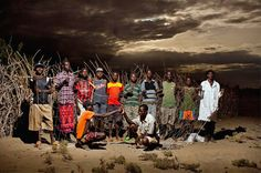 Photographer Alejandro Chaskielberg captures villagers in the northwest region of Kenya at night. With the use of strobe lighting and long exposure times . Exposure Time, Long Exposure, Contemporary African Art, Weird Stories, African Countries, Photo Essay, East Africa, Kenya, Pop Culture