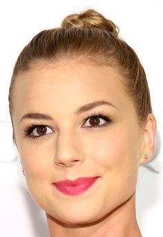 Emily VanCamp's Twisted Top Knot