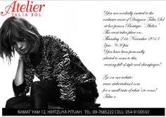 Atelier Talia Sol-IDC Herzelia private party Party, Atelier, Parties