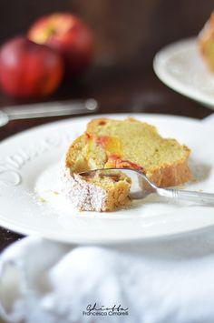 Torta soffice di Claudia, alle pesche e cannella | Cucina Ghiotta