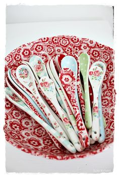 Sommerhusliv all year | Beautiful collection of GreenGate spoons