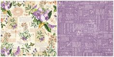 May Flourish page from our new calendar collection, Time to Flourish! In stores in early November #graphic45 #sneakpeeks