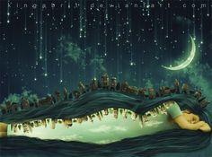 But a Dream Within a Dream by KingaBritschgi.deviantart.com on @deviantART