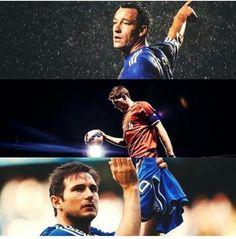LEYENDAS DEL FUTBOL. #Terry #Gerrard #Lampard