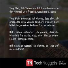 #Technuggets #Witz #TonyBlair #BillGates #BillClinton