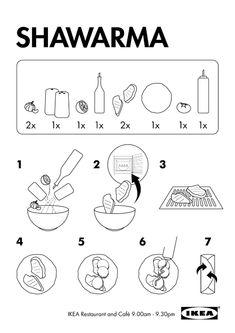 ikea by mel harvey, via Behance Technical Illustration, Technical Drawing, Branding Design, Logo Design, Graphic Design, Frankie And Bennys, Recipe Drawing, Ikea, Id Design