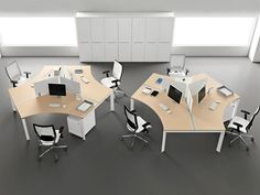 Modern Office Furniture Simply And Great With Modular Computer Desk