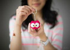 Owl Keychain - All About Ami