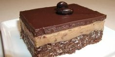 A twist on a Canadian Classic Recipe - Cappuccino Nanaimo Bars (Recipe from Food Network)