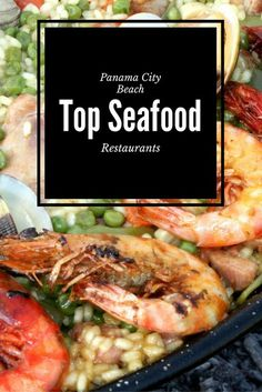 Dig into the top Panama City Beach seafood restaurants! You'll find affordable and casual to upscale and date-night ideas. #Florida #seafood #vacation #itripvacations