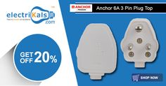 Weekend Savings!!! #Anchor #PlugTops  @ Electrikals.com​ #Anchor395716A3PinSuperTop #Anchor3PinSuperTop #electrikals #OnlineShopping