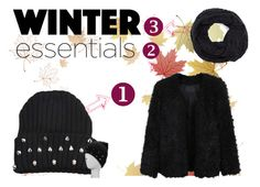 """What Are Your Winter Essentials?"" by beingmyselfaf on Polyvore featuring LE3NO"