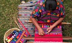 Fashion power: brands have the potential to empower women who use traditional crafts and techniques in their work. Photograph: Alamy