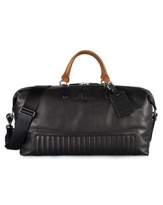 1a3119785a23 Quilted Leather Duffel Bag - Ralph Lauren New Arrivals - RalphLauren.com  Leather Duffle Bag