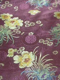 Chinese Brocade Fabric--Floral Dress?