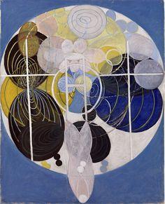 Hilma af Klint Painting beyond matter — DOP
