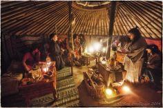 LARP - LRP Mythlore New Lands event - Khagan Hospitality - Photo Courtesy & © Roy Smallpage 2014