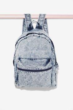 Bayside Acid Wash Backpack - Accessories | Bags + Backpacks | Fall Essentials