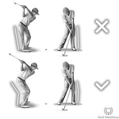 Concentrate on making sure your knees don't lock up during your swing, or at least not until after impact with the ball. Specifically, the right knee can have a tendency to lock up at the top of the backswing whereas the left knee can behave similarly at impact.