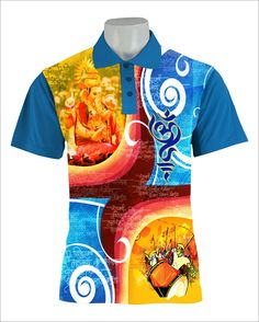 7cdbc34d57b Get your own customized Ganpati T-shirt for the year 2018! Visit http: