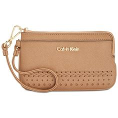 Calvin Klein Novelty Braided Wristlet ($58) ❤ liked on Polyvore featuring bags, handbags, clutches, cashmere braid, calvin klein handbags, beige purse, faux leather handbags, beige clutches and vegan purses