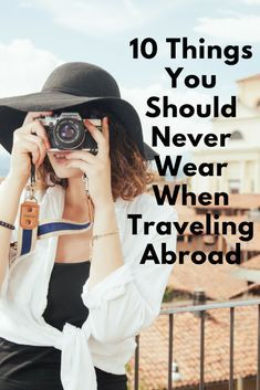 Before you start packing your suitcase, consider these 10 things you may wish to leave in your closet when traveling abroad. Before you start packing your suitcase, consider these 10 things you may wish to leave in your closet when traveling abroad. Travel Info, Packing Tips For Travel, Travel Advice, Travel Essentials, Travel Hacks, Packing Hacks, Travelling Tips, Europe Packing, Packing Ideas