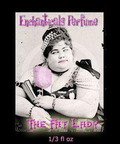 The Fat Lady Artisan Perfume oil  KrAzy by EnchanticalsPerfume, $10.00
