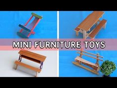 DIY Toy Ferris Wheel using Popsicle sticks | Easy Crafts project for Kids 2017 - YouTube