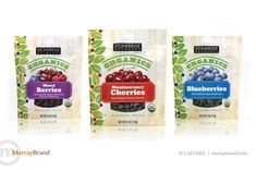 Organic Snack Food Packaging Design by Murray Brand Communications  | Package Design