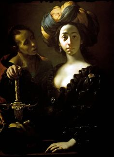 "Francisco del Cairo, ""Judith with the Head Holofernes,"" 1630-35, John and Mable Ringling Museum of Art, Sarasota, Florida, USA"