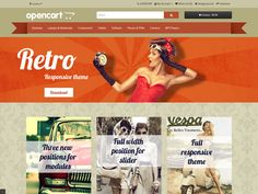 16 Best Free OpenCart Themes images in 2015 | Free, Website