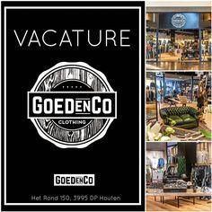 Wij zijn opzoek naar GOED-e versterking van ons team. Ben jij die waanzinnige verkoop(-ster) voor meerdere dagen met winkelervaring. Ben jij #commercieel #duizendpoot #zelfstandig #verantwoordelijk #blauwbloed  Dan kunnen wij wel eens GOED voor elkaar zijn! Mail ons je CV en toelichting naar info@jeansenlifestyle.nl  #vacature #newjob #gezocht #fashion #retail #goedenco #houten