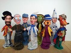 Pinocchio woodpuppet series. Handmade.
