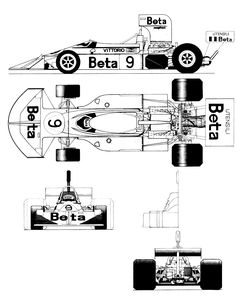 Ferrari 1512 blueprints google search f1 racer pinterest march 751 blueprint malvernweather Gallery