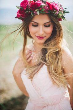 Labios rojos para novias e invitadas Red lips for bride